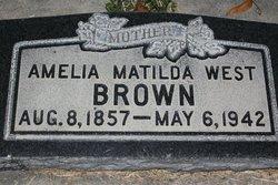 Matilda <i>West</i> Brown
