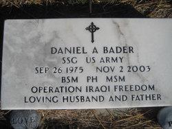 Sgt Daniel Aaron Bader