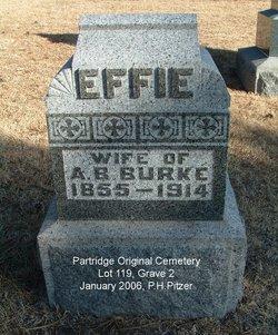Effie Augusta <i>Bacon</i> Burke