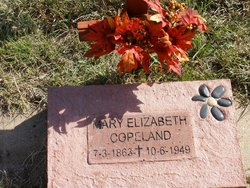 Mary Elizabeth <i>Smith</i> Copeland