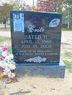 Saeed Hashim Sizz Crite, Sr