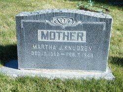 Martha Jane <i>Davis</i> Knudsen