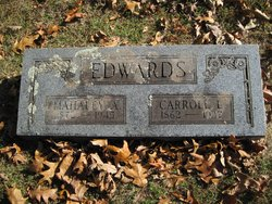 Mahaley Adaline <i>Maxwell</i> Edwards
