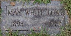 May <i>White</i> Lowe