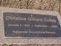 Christine Gilliard Culley Cully