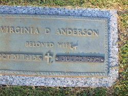 Virginia <i>Deaton</i> Anderson