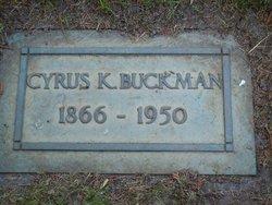 Cyrus K Buckman