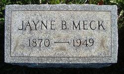 Jayne B Meck