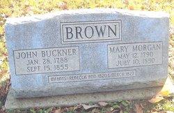 Mary <i>Morgan</i> Brown