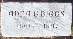 Anna <i>Gideon</i> Biggs