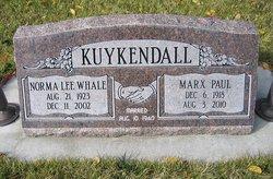 Norma Lee <i>Whale</i> Kuykendall