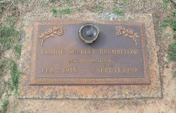 Rinda Elaine <i>Shelley</i> Brumbelow