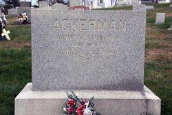Louisa L <i>Christman</i> Ackerman