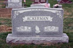 Ethel M <i>Wharton</i> Ackerman