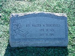 Rev Walter W. Berchtold