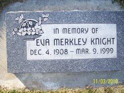 Eva <i>Merkley</i> Knight
