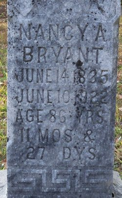 Nancy Adeline <i>Kilpatrick</i> Bryant
