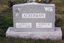 Gladys Louise <i>Stephens</i> Ackerman