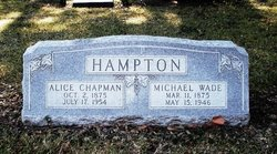Alice <i>Chapman</i> Hampton
