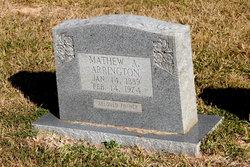 Matthew A. Arrington