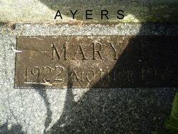 Mary Emma <i>Brandenburg</i> Ayers
