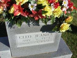 Cleo Jeanice <i>McCrea</i> Nutt