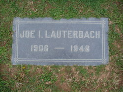 Joe I Lauterbach