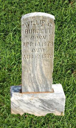 Willie G Burdett