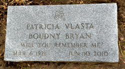 Vlasta Patricia <i>Boudny</i> Bryan
