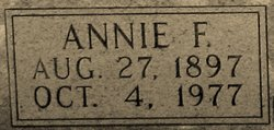 Annie Florence <i>Mabe</i> Mabe