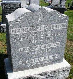 Erbertha May <i>Lingo</i> Burton