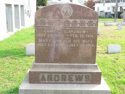 Mary <i>Hawver</i> Andrews