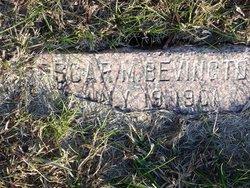 Oscar M Bevington
