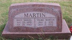 Velma <i>Morton</i> Martin