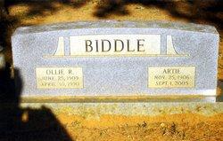 Ollie Raymond Biddle