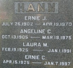 Laura May <i>Oliver</i> Hann