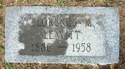 Florence M Peggy Leavitt