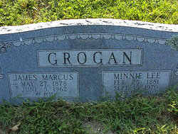 Minnie Lee <i>Moore</i> Grogan