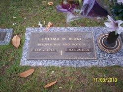Thelma L. <i>Martin</i> Blake