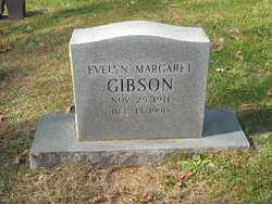 Evelyn Margaret Gibson