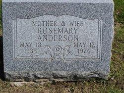 Rosemary <i>Walsh</i> Anderson