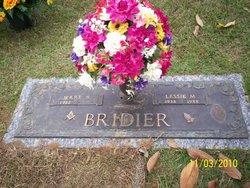 Lessie Mae <i>Stokley</i> Bridier