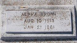 Alpha Brown