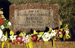 Flossie <i>Carroll</i> Barfield