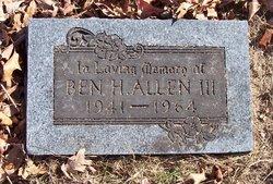 Ben Harlen Allen, III