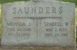 Miranda J <i>Miller</i> Saunders