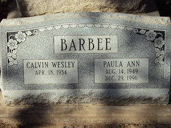 Paula Ann <i>Pasley</i> Barbee