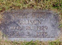 Sally <i>Ward</i> Allison