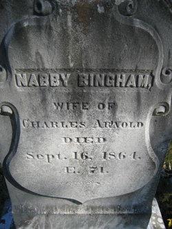 Nabby <i>Bingham</i> Arnold