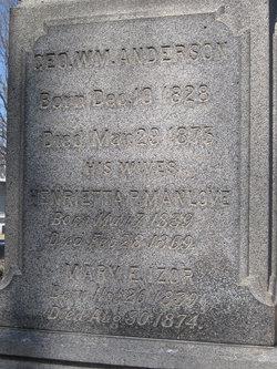 Henrietta P. <i>Manlove</i> Anderson